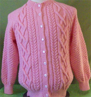 Aran Cardigan Knitting Patterns Free – Knitting Patterns Free